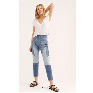 NWOT LEVI's 🌸 Colorblock Jeans